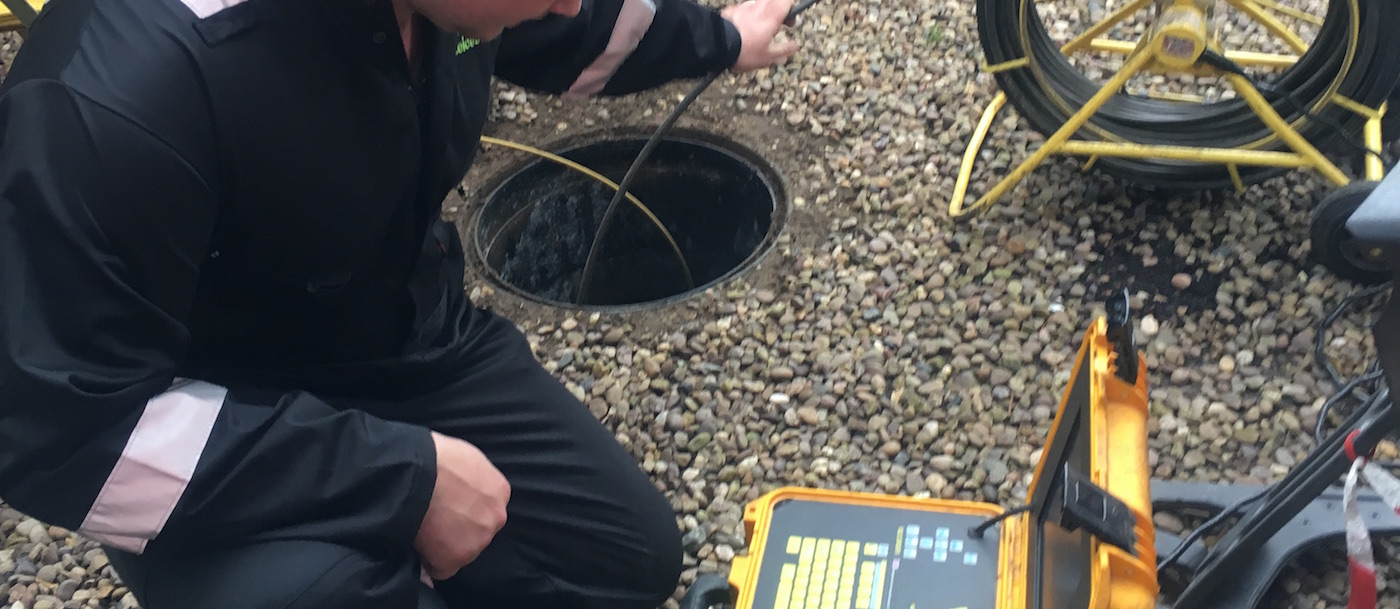 Camera inspections for Leicester Drain